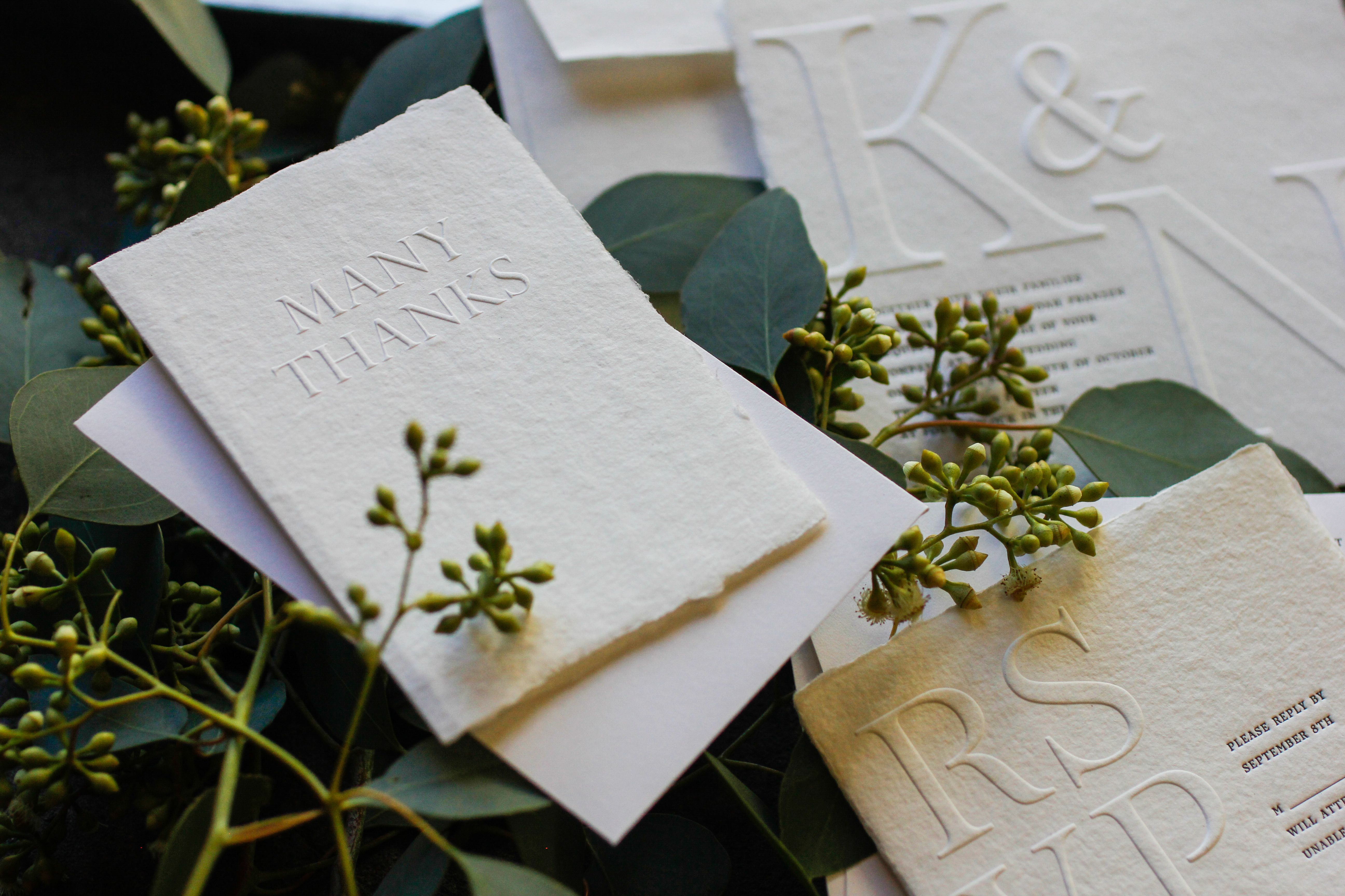 enjoy a complimentary set of thank you cards when you order wedding ...