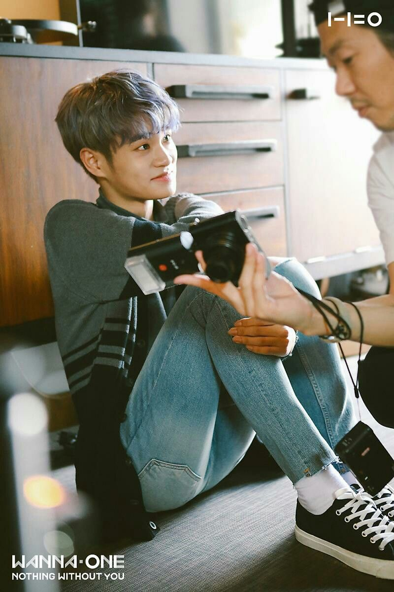 Wanna One 1 1 0 Nothing Without You Jacket Shoot Bts With