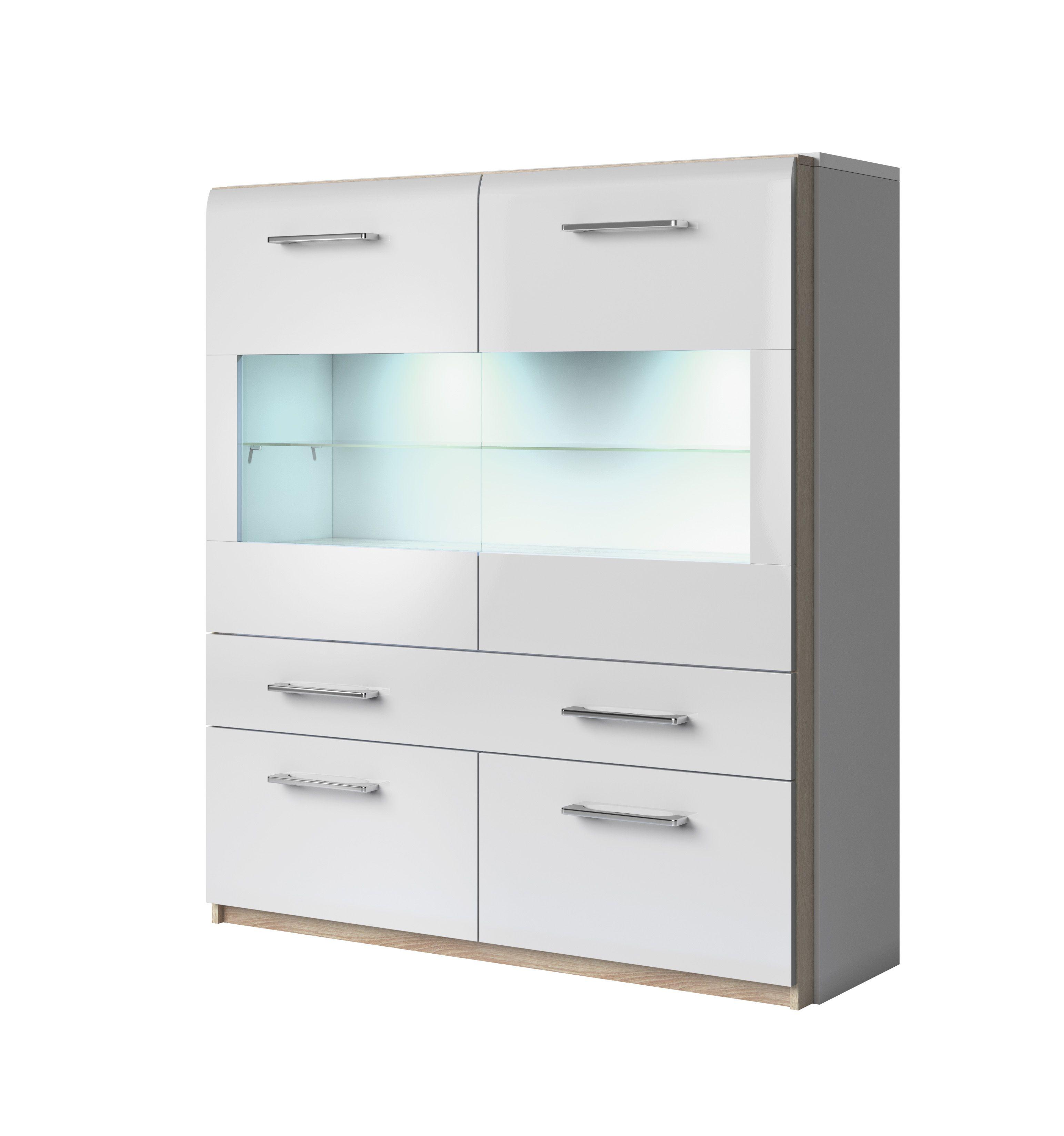 Highboard magnus typ drawer unit drawer storage unit and drawer