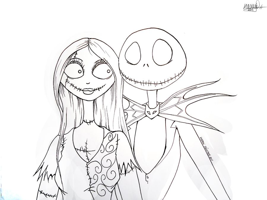 find this pin and more on party nightmare before christmas by cristianeevans the nightmare before christmas sally coloring page