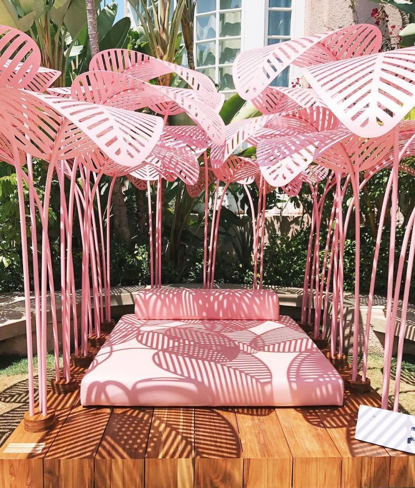 40 Pink Places In The World Made For Instagram Beverly Hills Hotel Wallpaper Pink Hotel Hotel Decor