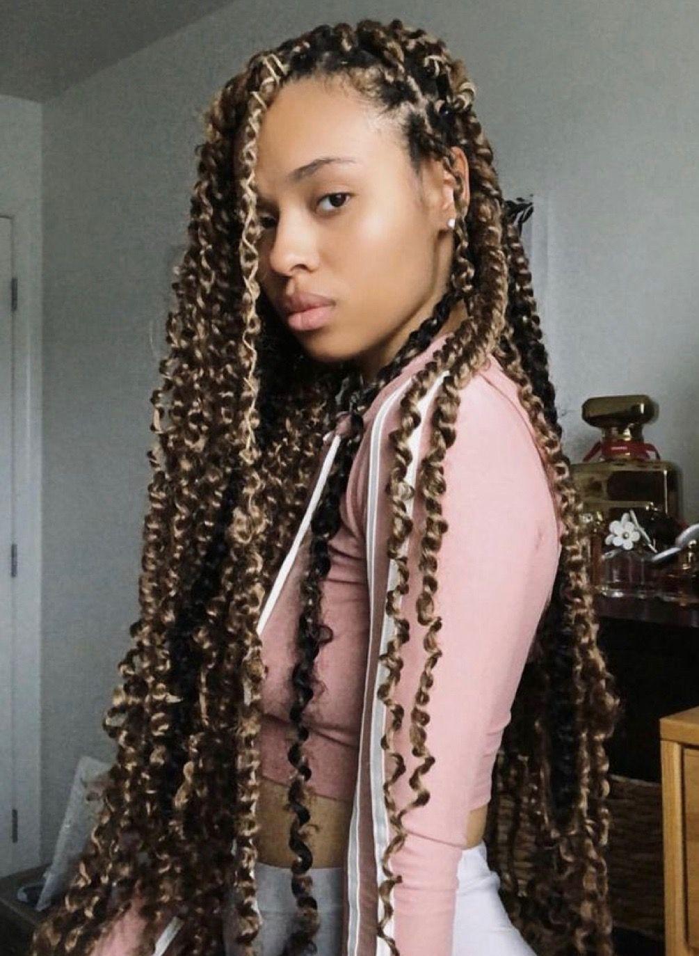 Pinterest Theylovekandi Twist Braid Hairstyles Natural Hair Styles Twist Hairstyles