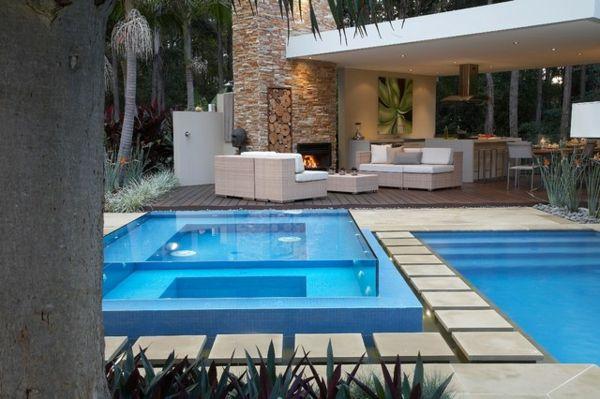 Pool Glass Wall | ? E ? | Pools | | Pinterest | Schwimmbäder ... Ideen Schwimmbad Im Haus