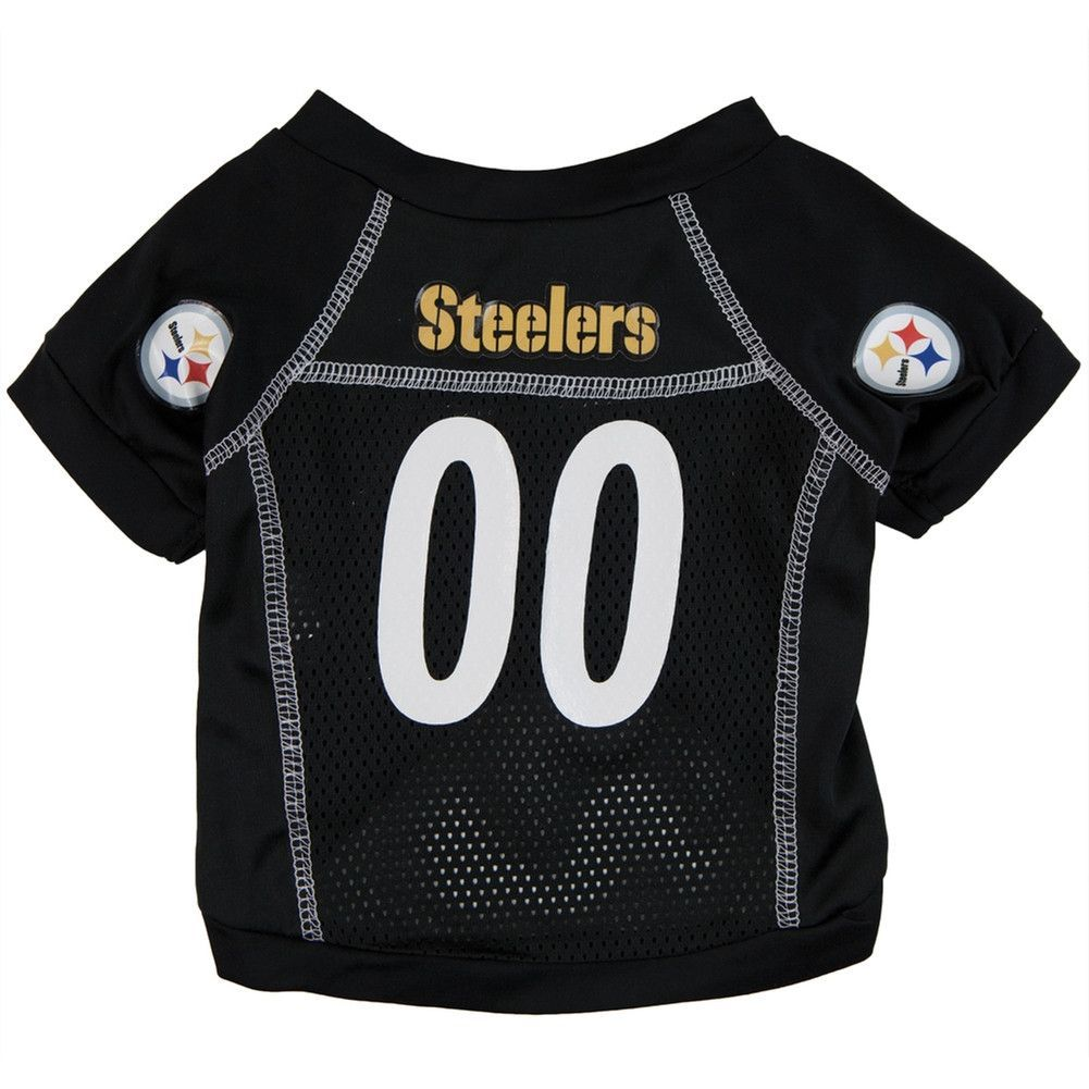 Pittsburgh Steelers - Team Colors Dog Jersey   Products   Pinterest
