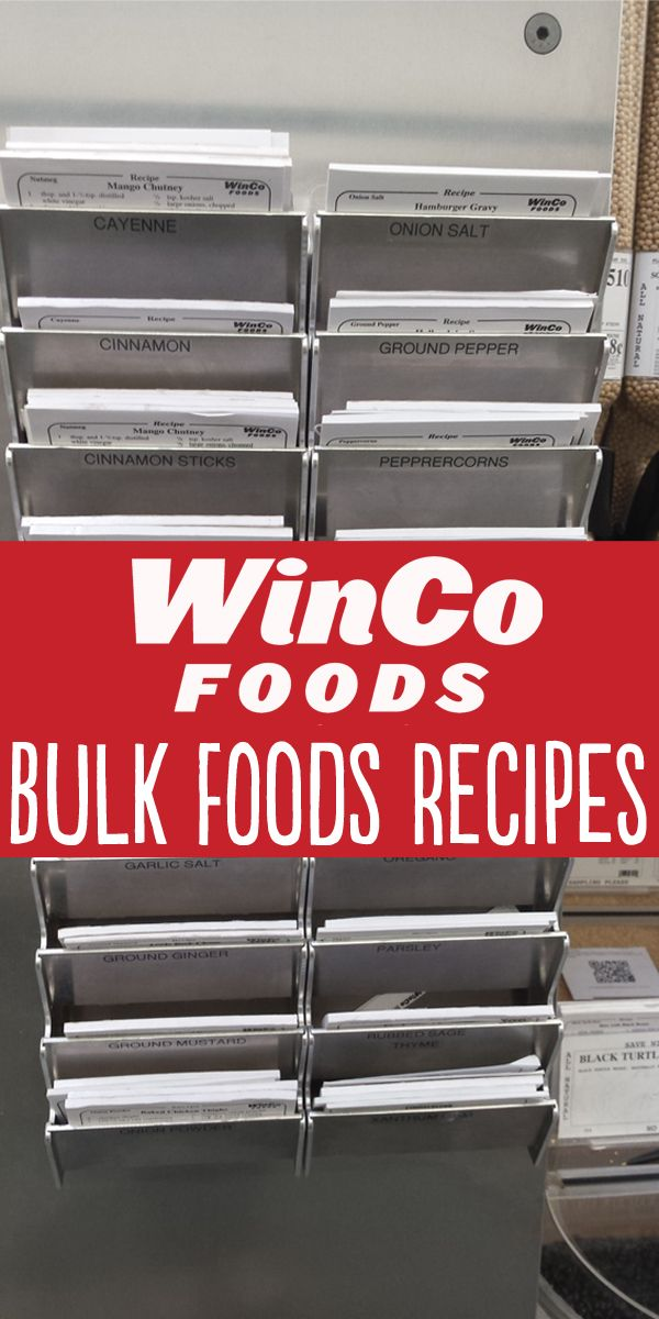 Have you used the recipe cards in winco bulk foods did you know you have you used the recipe cards in winco bulk foods did you know you can find all of these recipes online just visit our website type in the bin number forumfinder Image collections