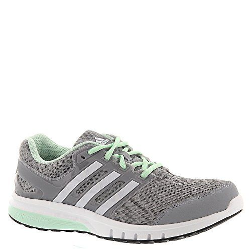 c49d8fb746ef38 Adidas galaxy elite FF w womens running-shoes AF4592 8.5 - Grey White Green  adidas