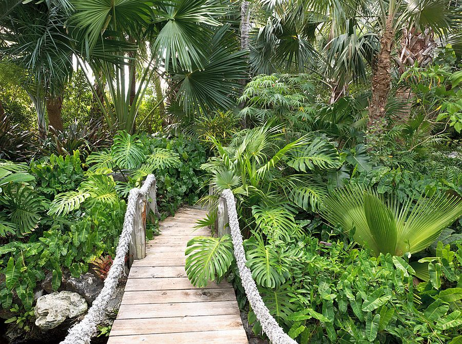 Oh To Have This Tropical Landscaping Tropical Landscape Design