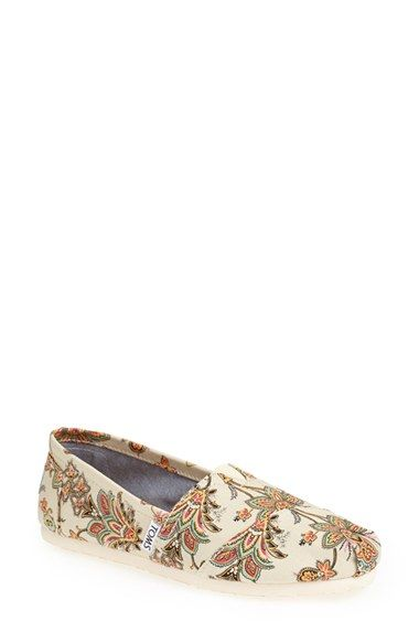 d50c3485ad2 TOMS  Classic - Vintage Paisley  Slip-On (Women) available at  Nordstrom.  Size 12.
