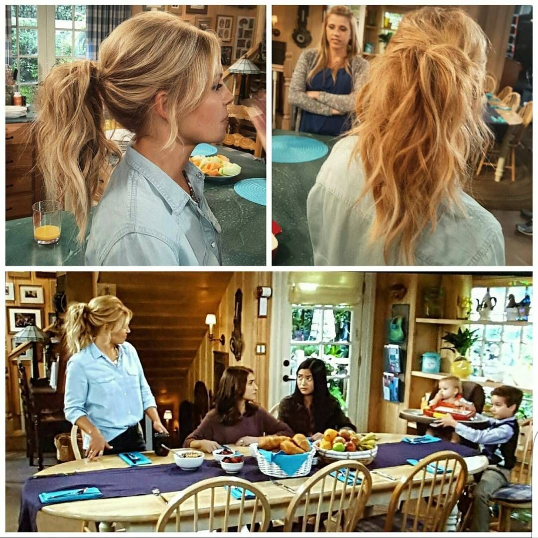 Fuller House Candace Cameron Bure Dj Ponytail In 2019