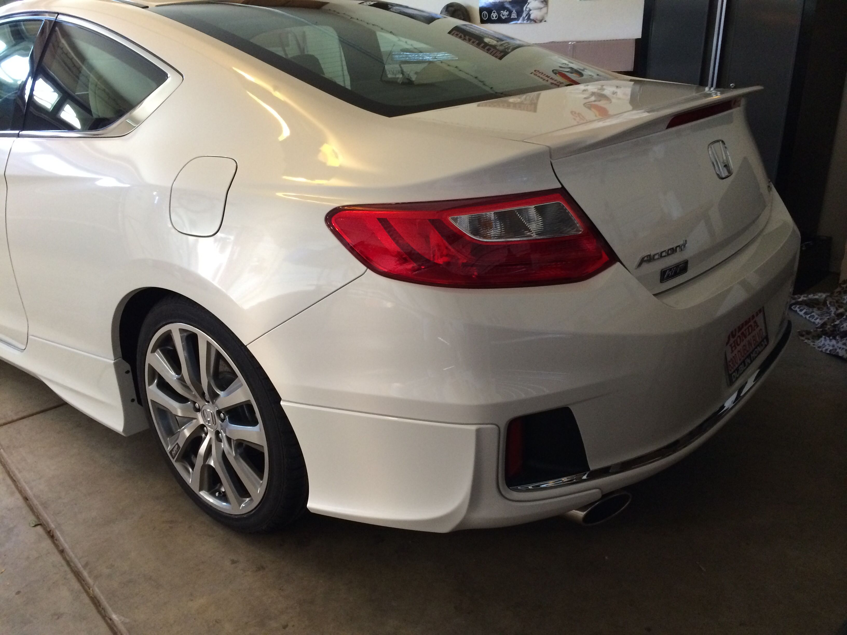 2014 accord coupe ex l v6 w full hfp kit white orchid pearl