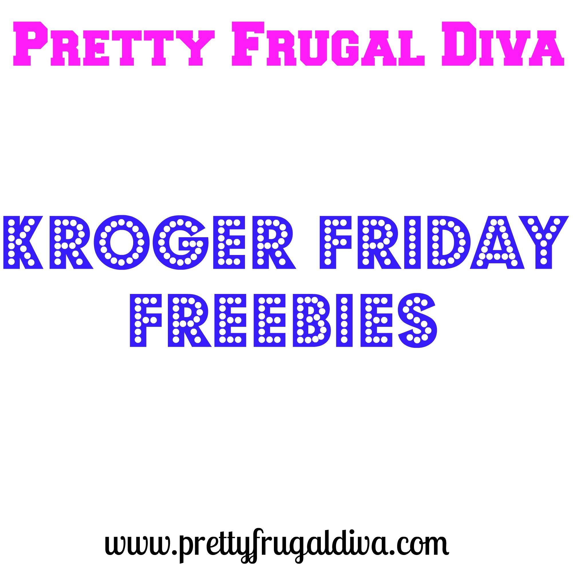 Kroger Friday Freebie 11 29 Pretty Frugal Diva Kroger Kroger Couponing Coupons For Free Items