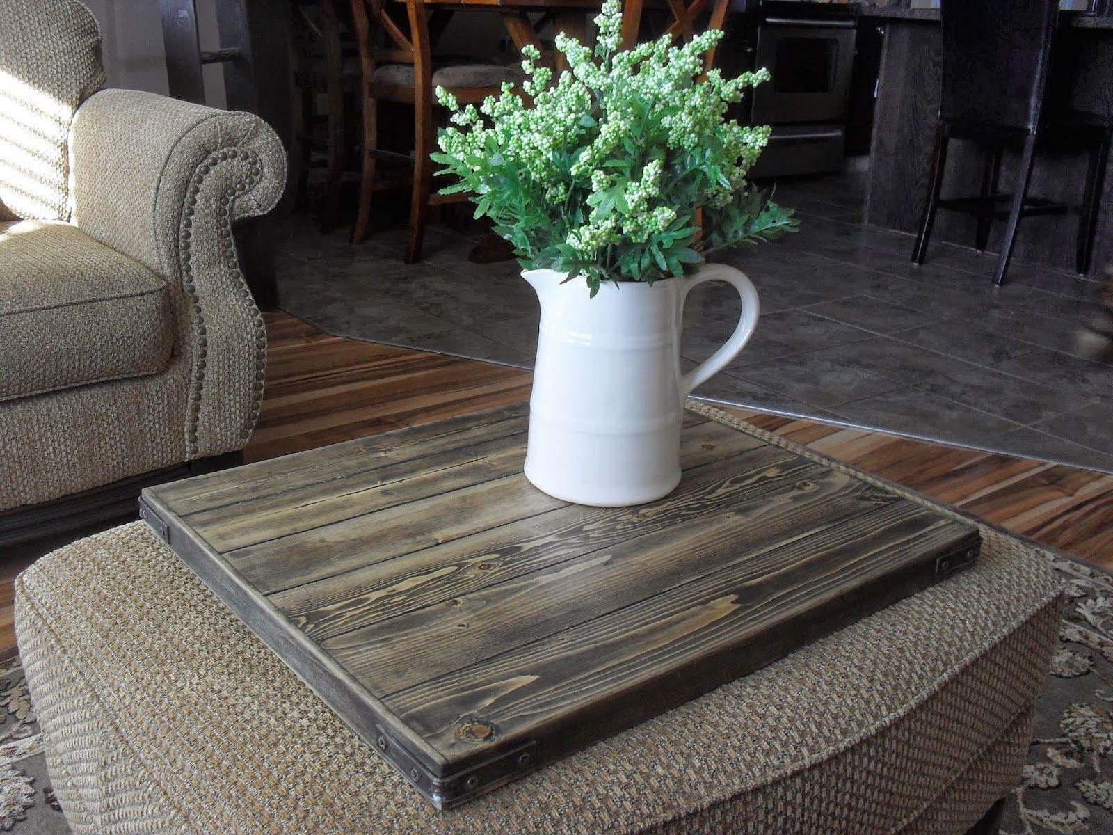 Miraculous Ottoman Topper Anniversaries Diy Home Crafts Wood Tray Frankydiablos Diy Chair Ideas Frankydiabloscom
