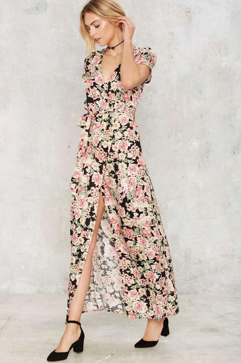 Maxi season dreamy u long dresses floral maxi dress floral