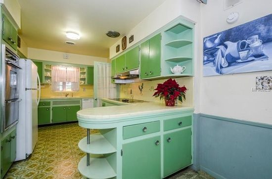 Belleair Home For Sale Zillow Home Vintage Kitchen