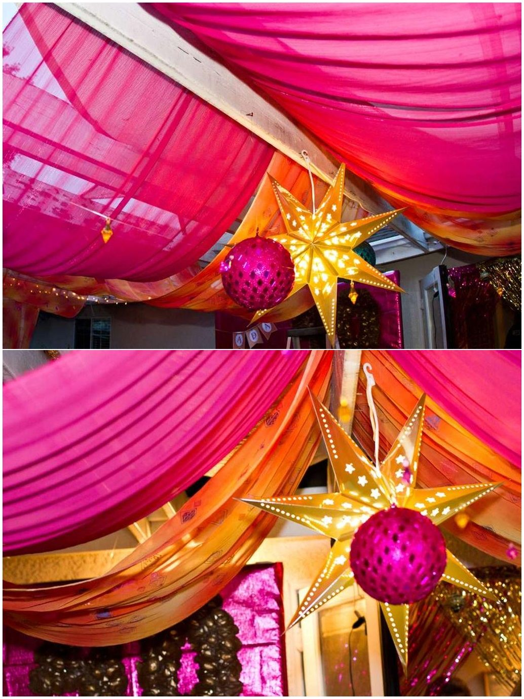 Indian Bollywood Party Ideas Decorations Theme Gold