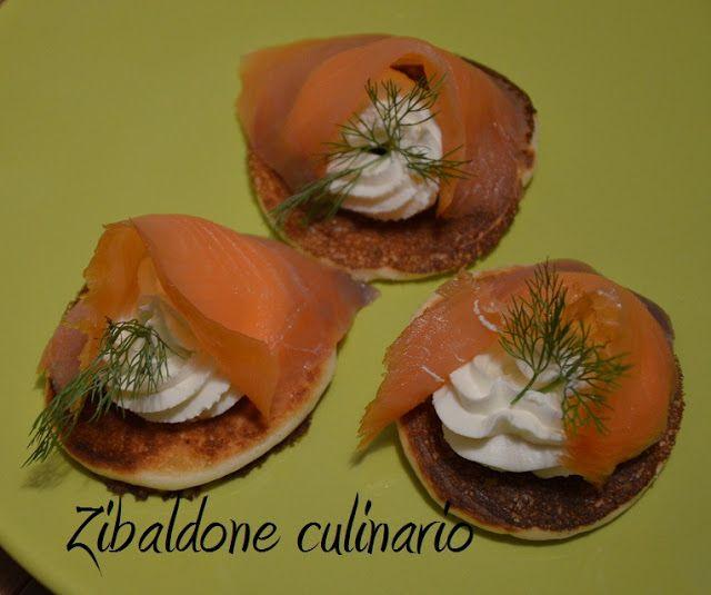 Zibaldone culinario: Blinis con salmone affumicato