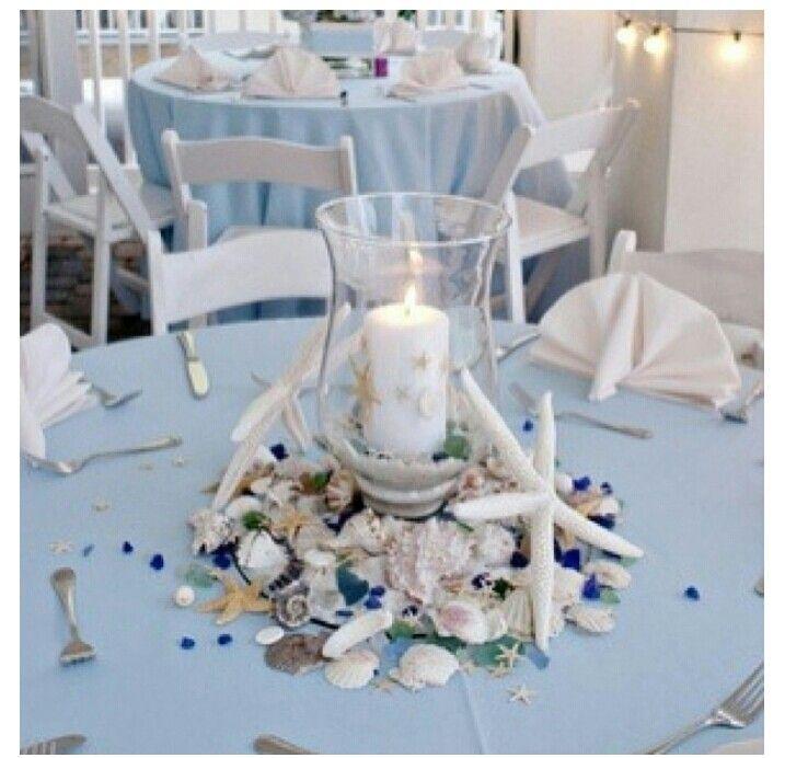 Caribbean Inspired Theme Beach Wedding Centerpieces Beach Theme