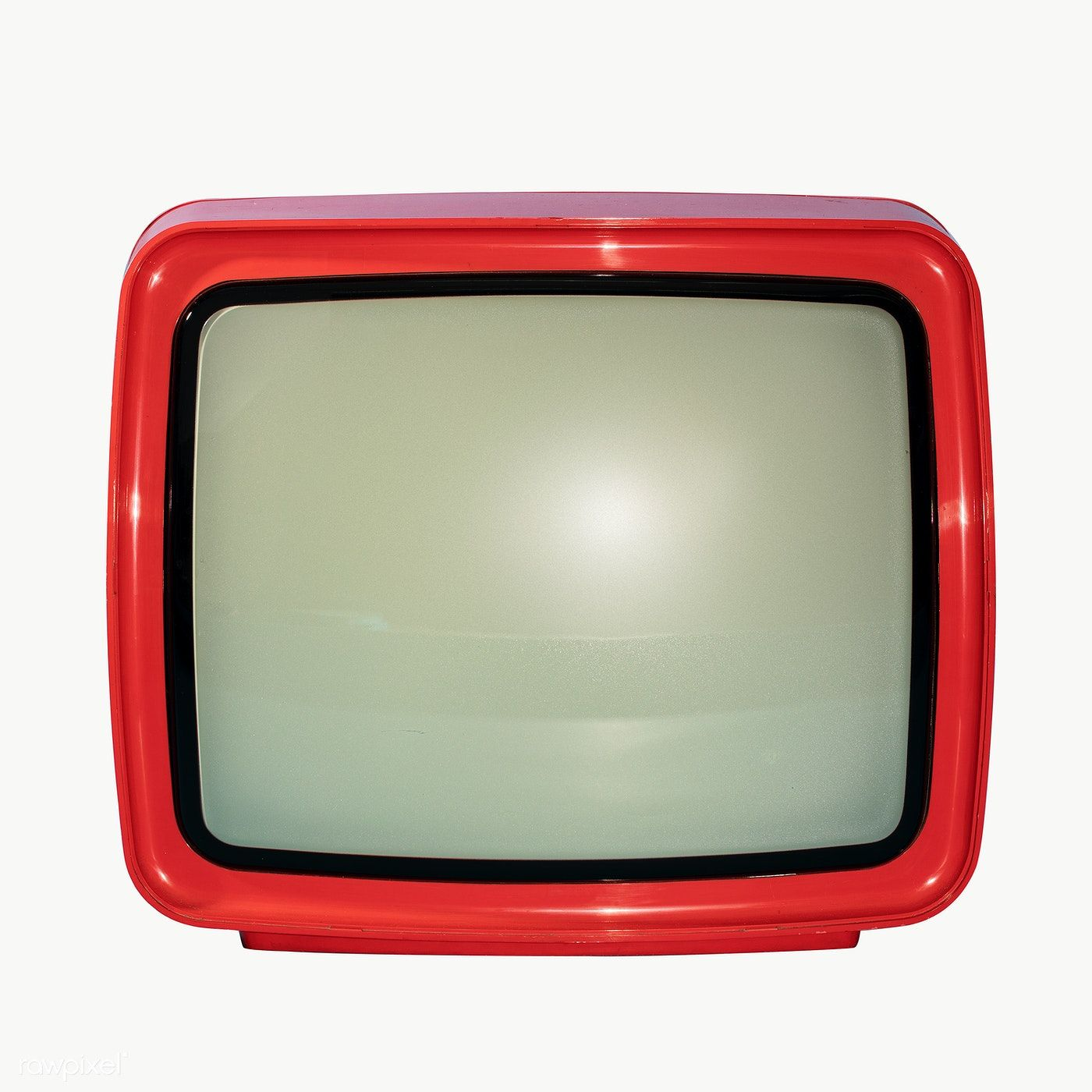 Download Premium Png Of Retro Red Television Transparent Png 2050840 In 2020 Png Retro Transparent