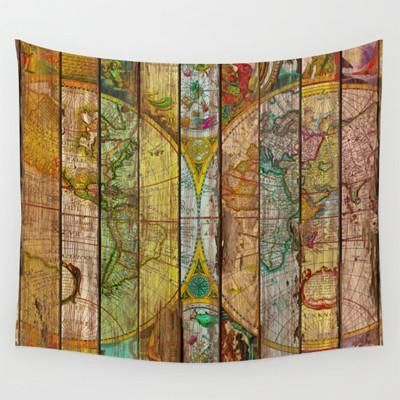 Homing new arrive hanging wall polyester tapestry retro colorful homing new arrive hanging wall polyester tapestry retro colorful world map bedspread home living room decoration gumiabroncs Image collections