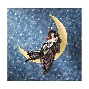 Sexy Witch on Moon