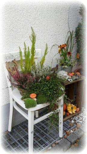 Herbstdeko #herbstdekoeingangsbereichdraussen
