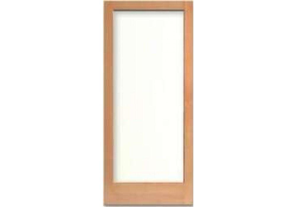 7001 Vertical Grain Douglas Fir French Door 1 Lite With Dual Clear Tempered Glass 1 3 4 Douglas Fir French Doors Doors Interior
