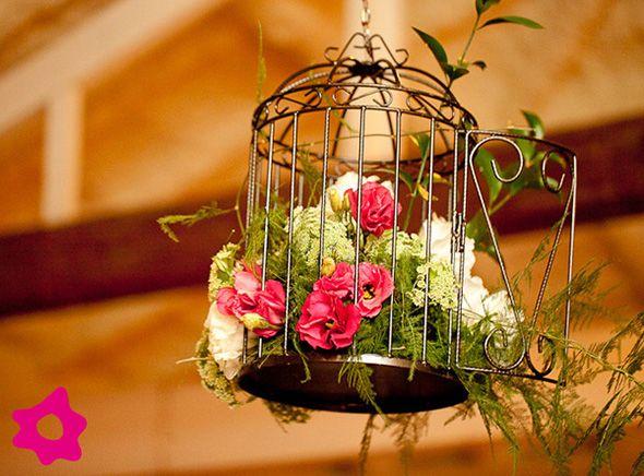 Decoração com gaiolas de passarinho | Beauty by Fezoka