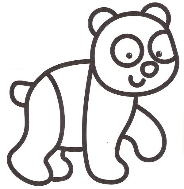 Coloriage petits coloriages dibujos dibujos bonitos et dibujos para ni os - Coloriage panda maternelle ...