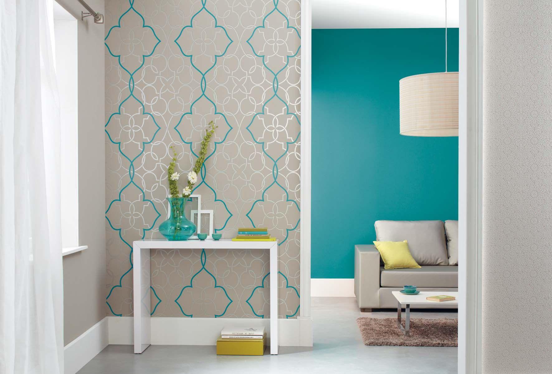 papier peint mur entr e papier peint et couleur entree pinterest peindre mur papier. Black Bedroom Furniture Sets. Home Design Ideas
