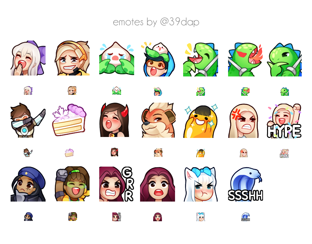 Twitch Emotes | Emotes&Emblem | Art drawings, Drawings, Art