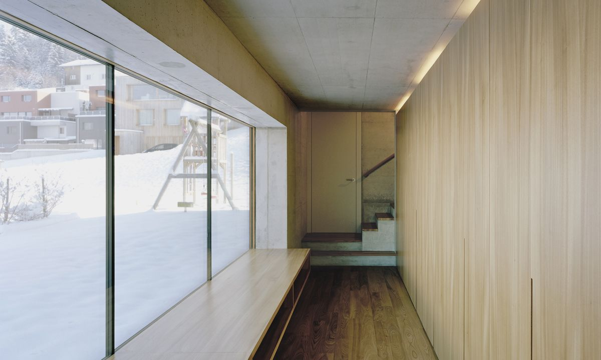 architekturbüro ivan cavegn - Haus Wanger   Schellenberg