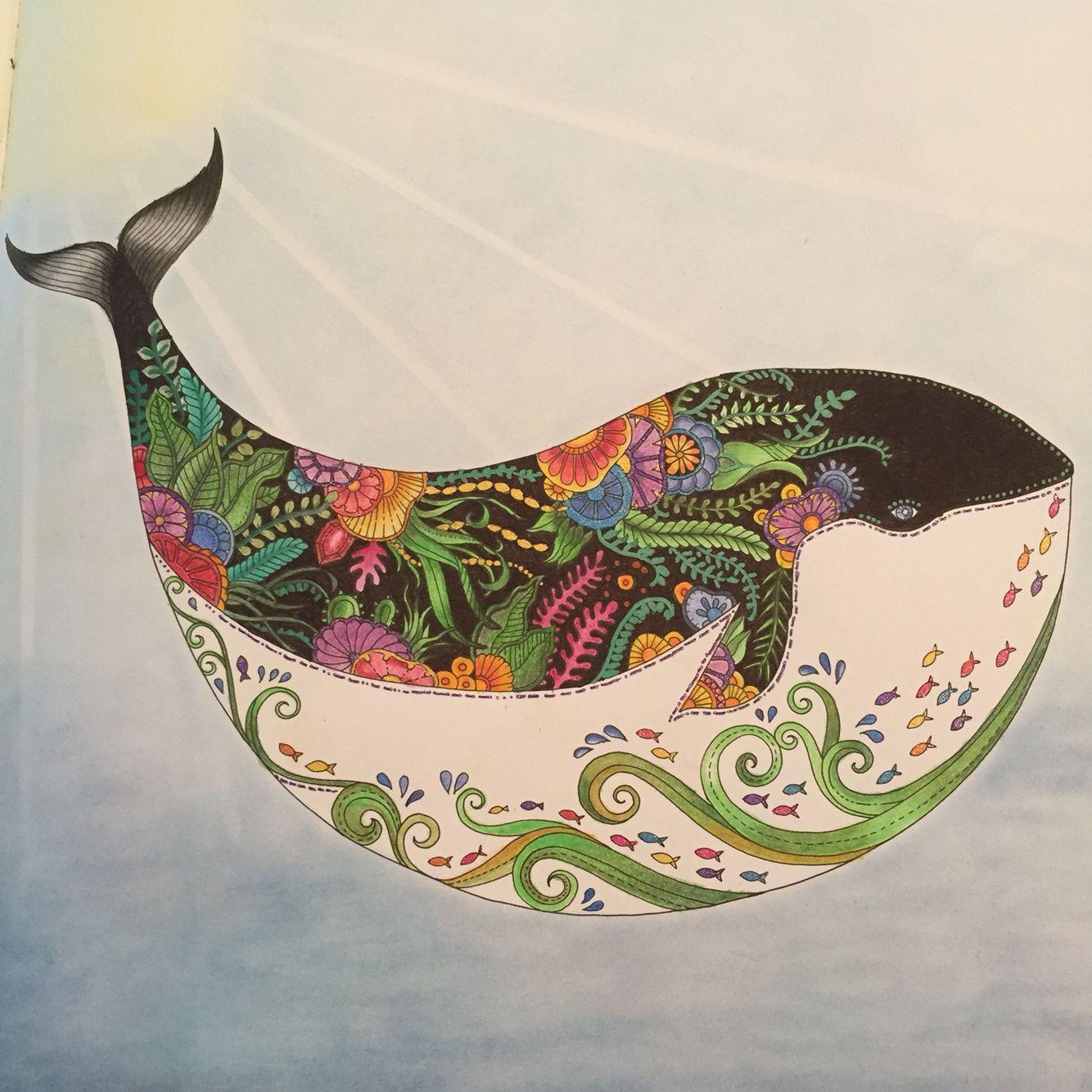 Lost Ocean Lost Ocean Coloring Book Johanna Basford Coloring Book Lost Ocean