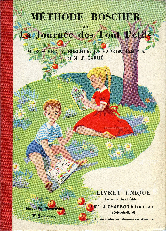 Methode Boscher Ou La Journee Des Touts Petits Livret Unique 1963 Methode Boscher Methode De Lecture Livre De Lecture