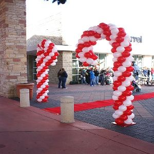 Large Candy Cane Decoration Candy Cane Ballon Decor  Creating With Candy Canes  Pinterest