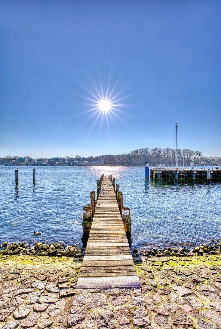 Sonnenschein im Februar Travemünde Ostsee urlaub