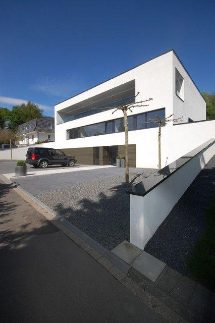garageneinfahrt am hang, wunderbar garageneinfahrt am hang und andere | maison | pinterest, Design ideen