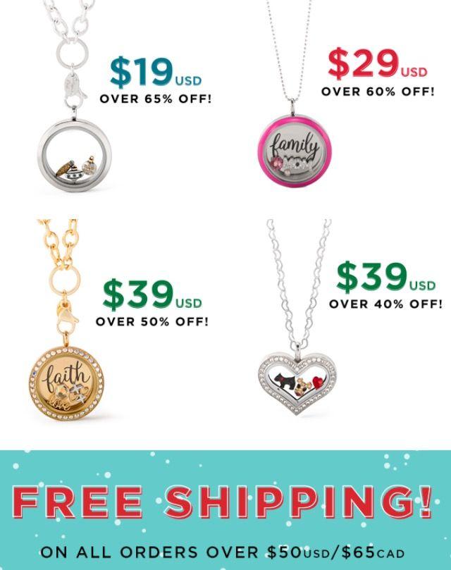 Origami Owl Custom Jewelry Cyber Monday Specials