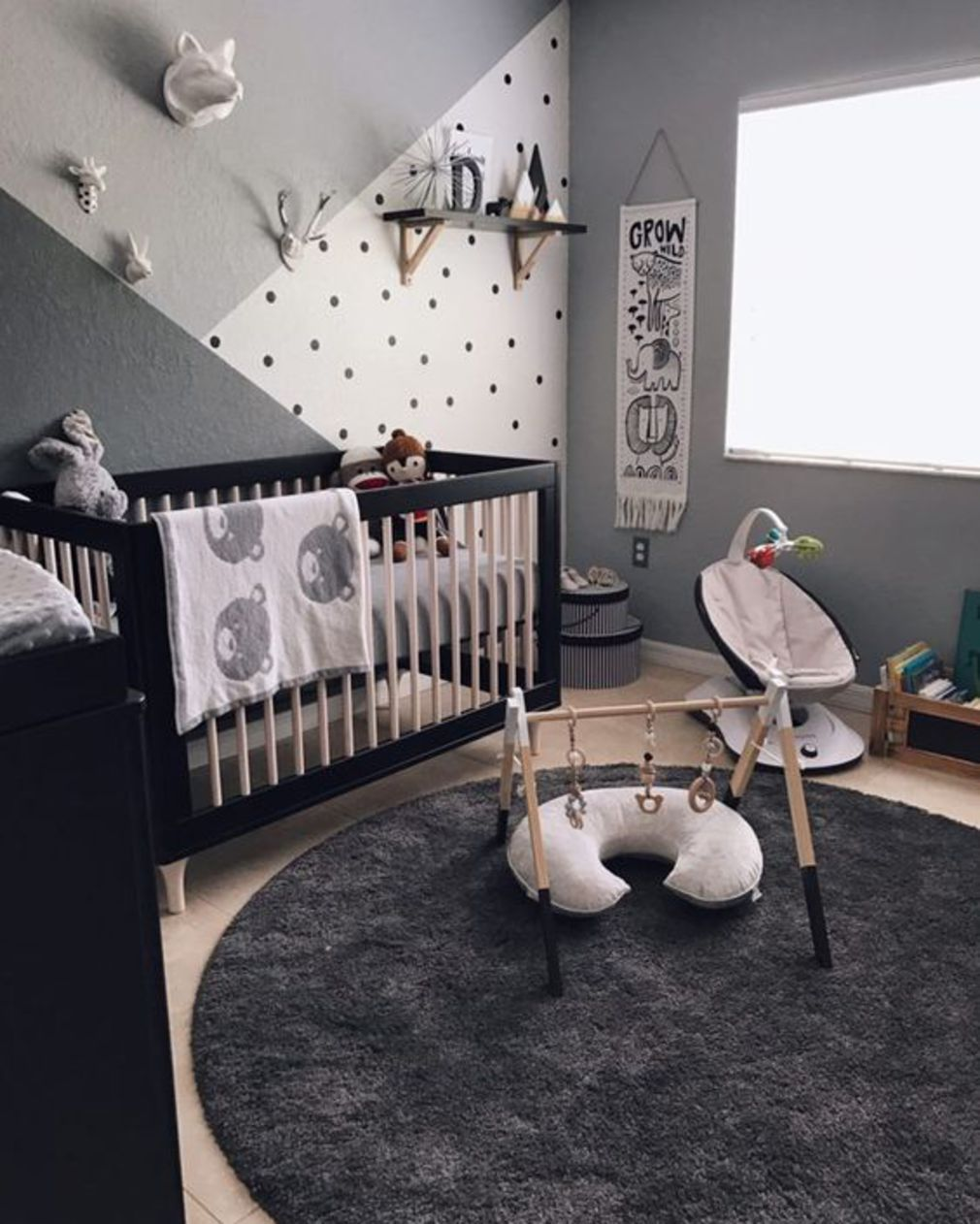 La chambre de bébé cosy - Les plus belles chambres de bébé