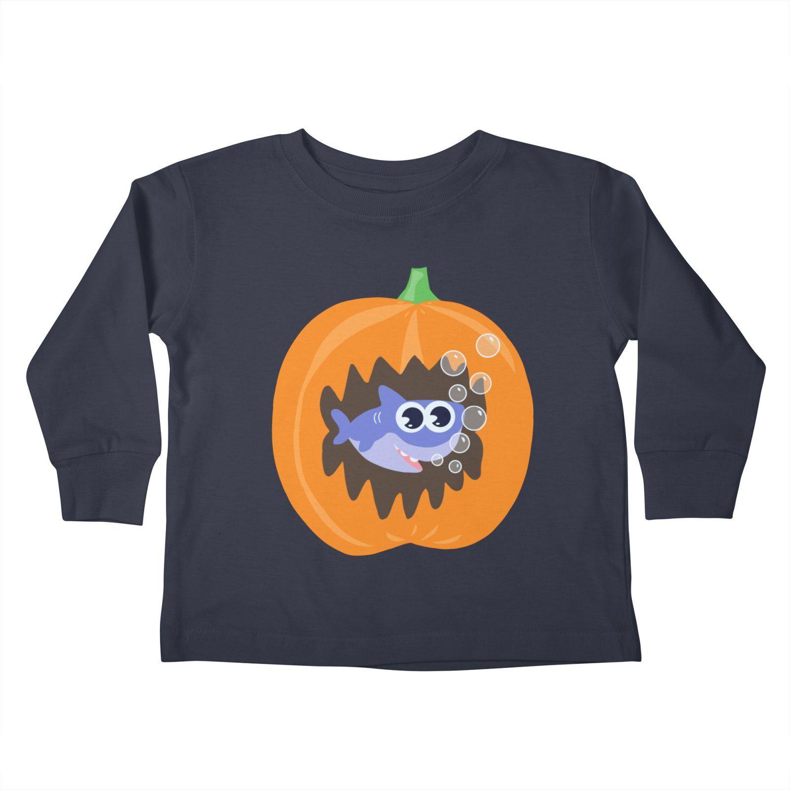 cd277430f28 Baby shark Halloween Kids Toddler Longsleeve T-Shirt by Mimie s Artist Shop  popular pin  popular  pin  shark  baby
