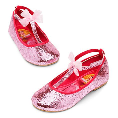 deddeed2e3b77 Aurora Flat Shoes for Girls - Sleeping Beauty | PRINCESS....{