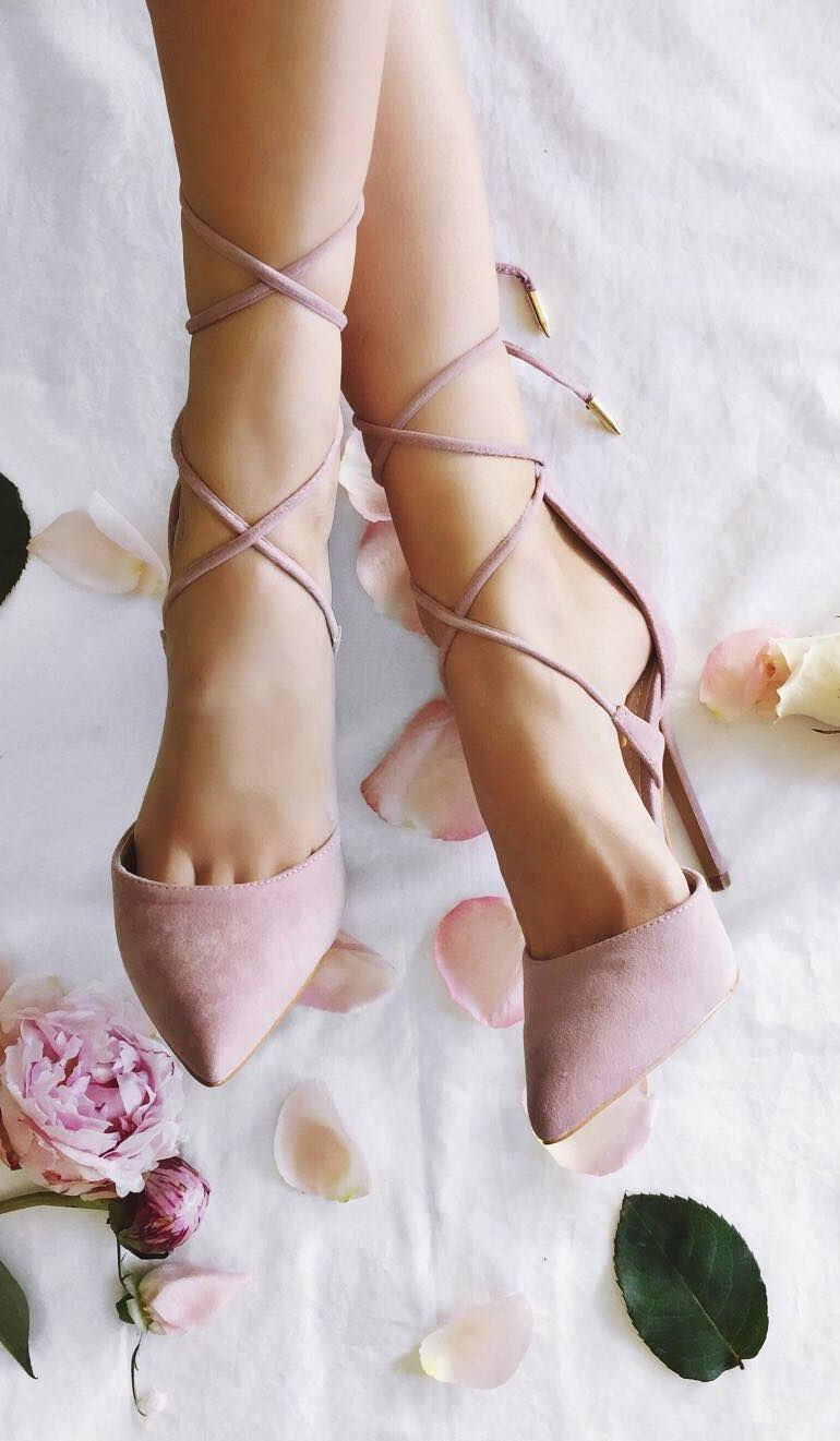 Souliers rose