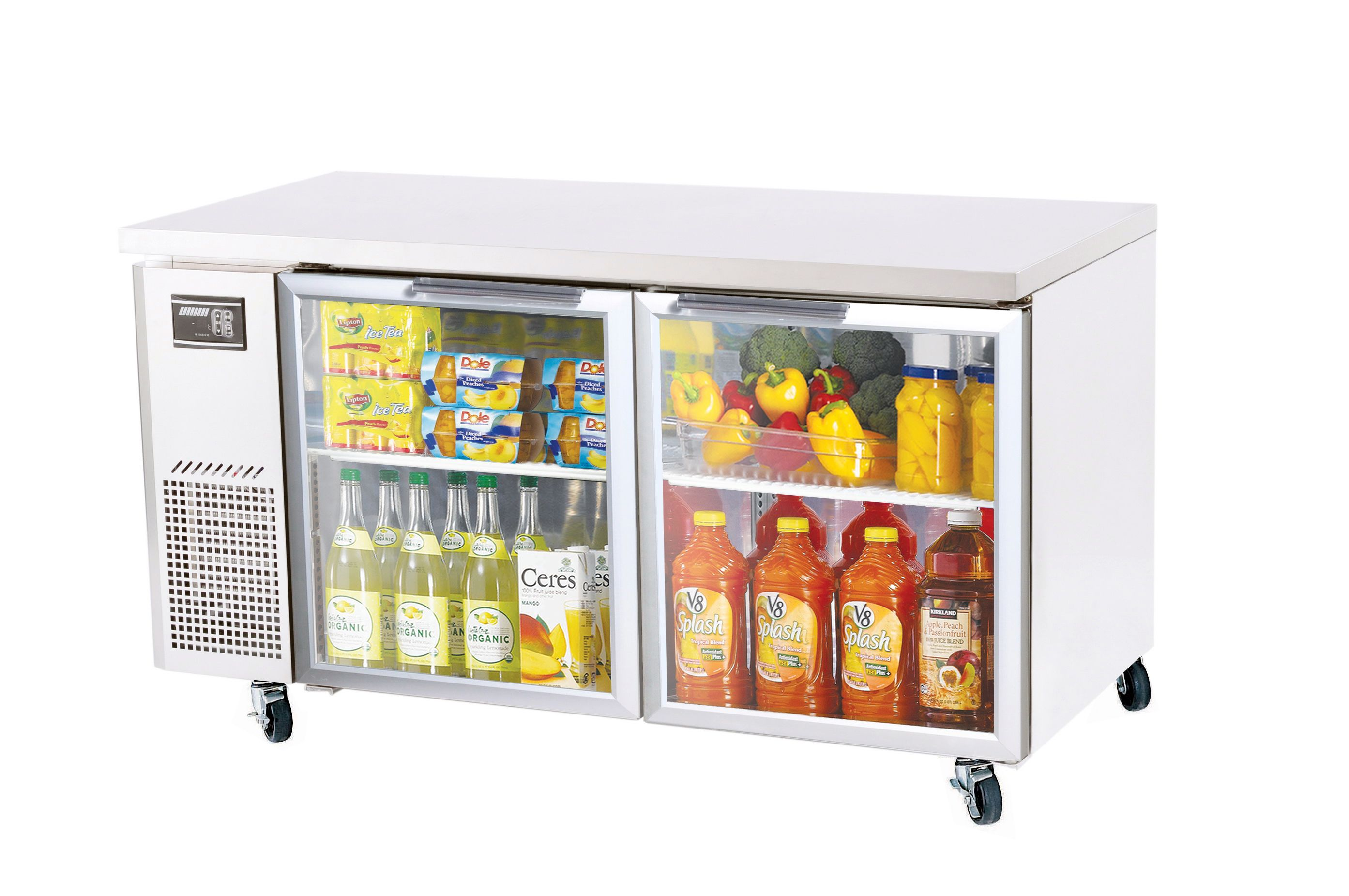 Glass Door Available in Refrigeration Only 15 Cu. Ft. , 2