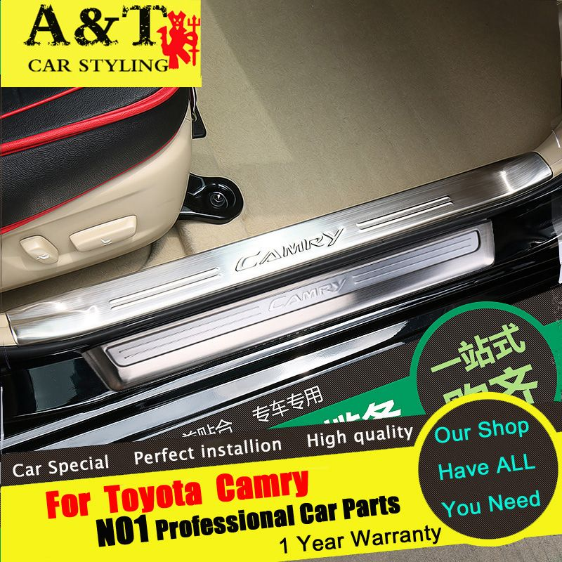 A&T For Toyota Camry Welcome pedal car styling For Camry Threshold ...