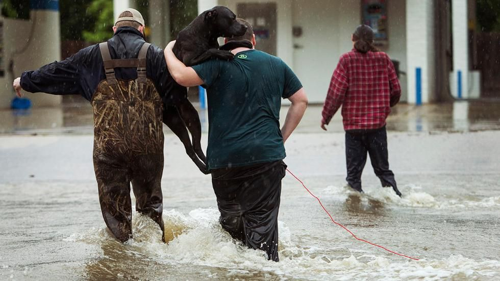 During severe weather first responders are the real