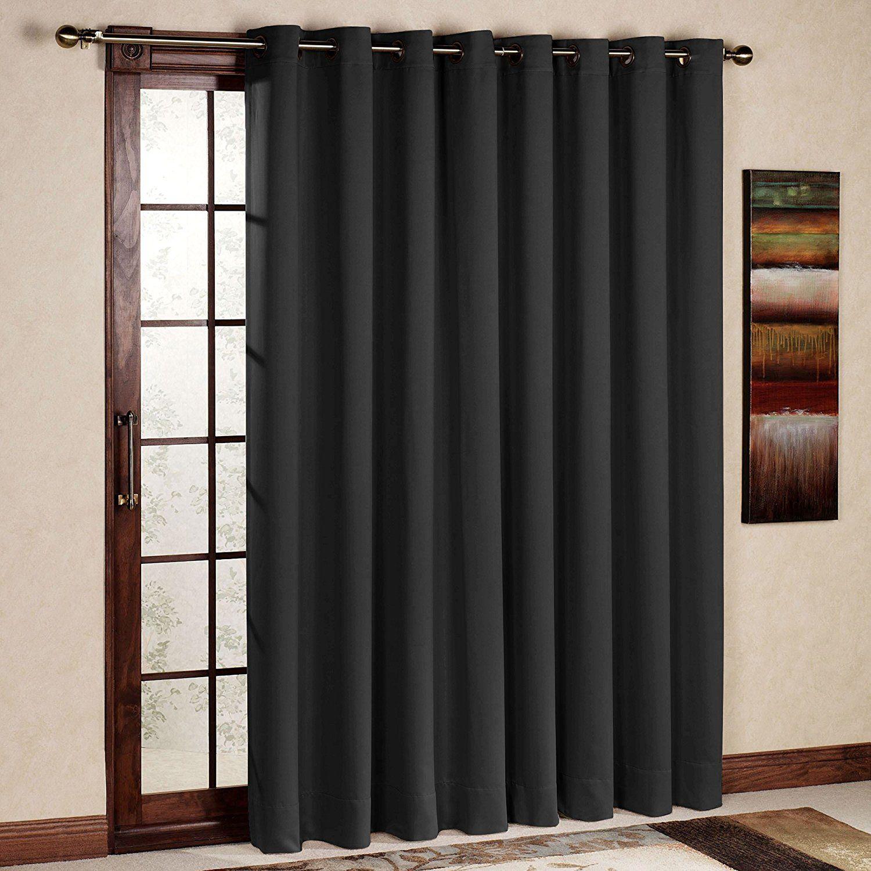 Amazon Com Rhf Wide Thermal Blackout Patio Door Curtain Panel