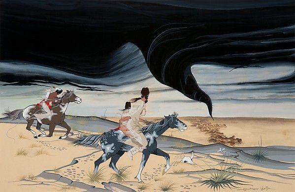 Francis Blackbear Bosin, Tsate Kongia   Wind Spirit   Comanche-Kiowa 1955