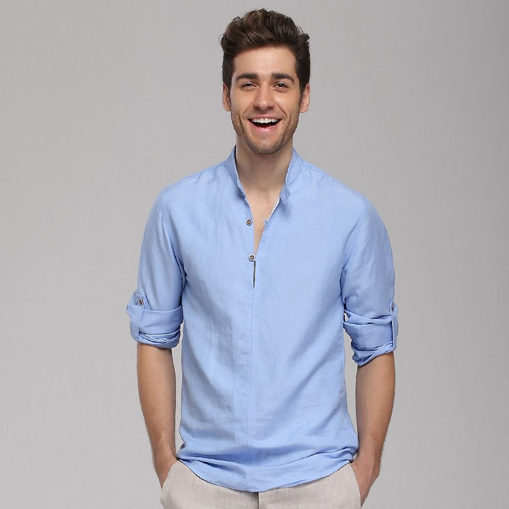 Linen shirts for men- a friend during the summers ...