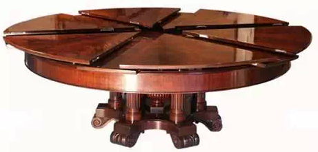 50 000 Expanding Table With Images Expandable Round Dining