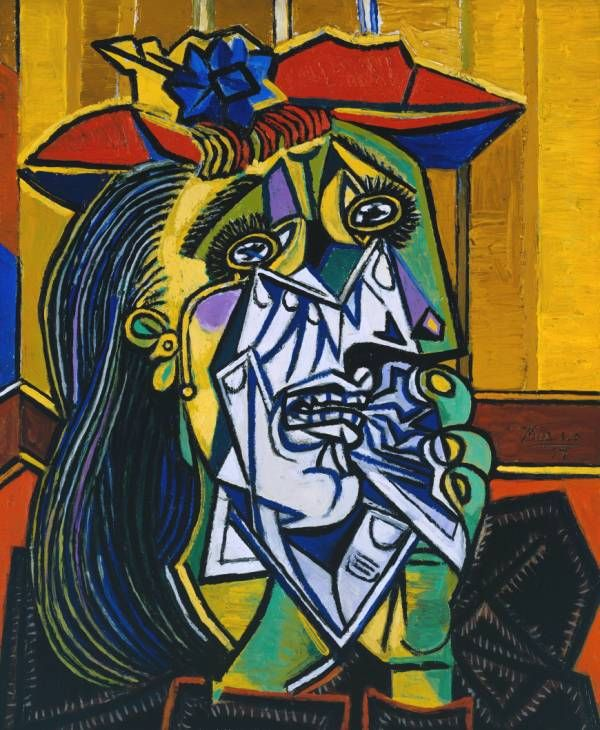 Weeping Woman (1937) by Pablo Picasso