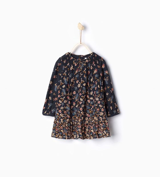 ZARA - KIDS - Frilled dress | Baby Girl | Pinterest